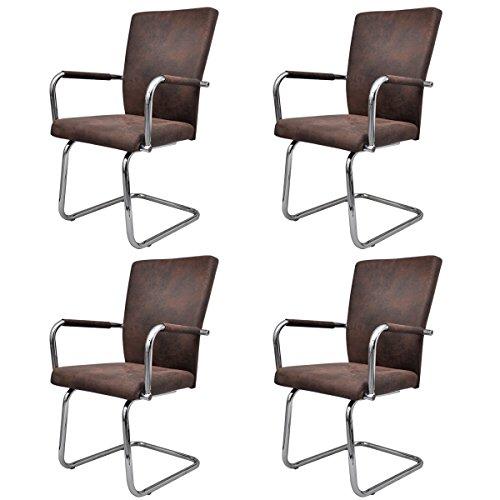 vidaXL Esszimmerstühle Esszimmerstuhl Stuhlgruppe Essgruppe Sitzgruppe mehrere Auswahl