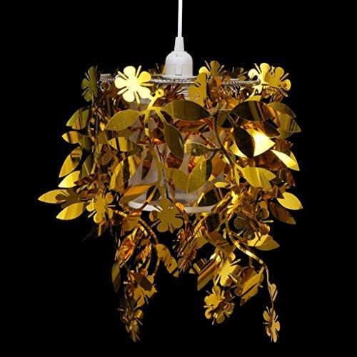 vidaXL Hängelampe Deckenlampe Pendelleuchte Hängeleuchte Luxus Kronleuchter gold