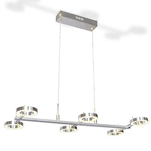 vidaXL LED Pendelleuchte Pendellampe Hängeleuchte Deckenlampe Küchenlampe 6x 4 W