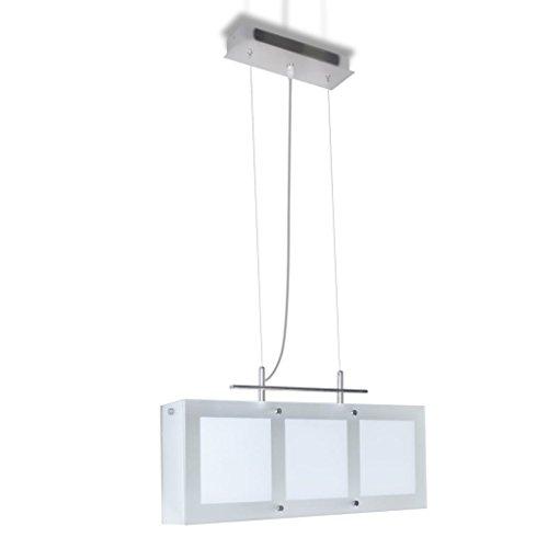 vidaXL Pendelleuchte Pendellampe Hängelampe Esszimmerlampe Esstisch Lampe 3xE14
