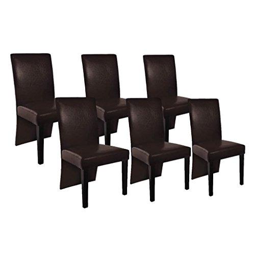 vidaXL Stühle Stuhlgruppe Hochlehner NEU Esszimmerstühle Essgruppe Sitzgruppe 2x 4x 6x