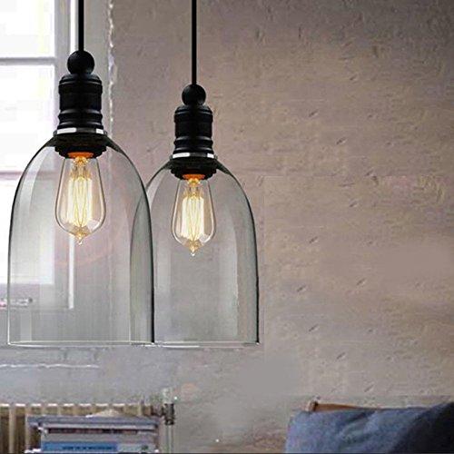 CHJK BRIHT moderne einfache für Wohnzimmer Schlafzimmer Glas Pendelleuchte
