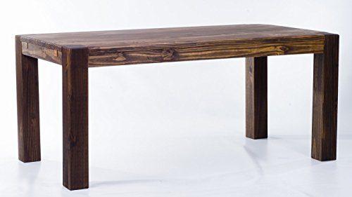 Brasilmbel-Esstisch-Rio-Kanto-160-x-90-x-78-cm-Pinie-Massivholz-Farbton-Eiche-antik-Cognac-0