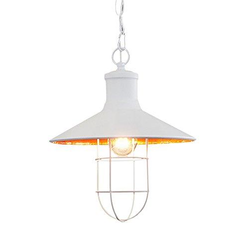Design Hängelampe CEILING LAMP 30 cm weiß Industrielampe E27 Hängeleuchte Deckenlampe Pendelleuchte