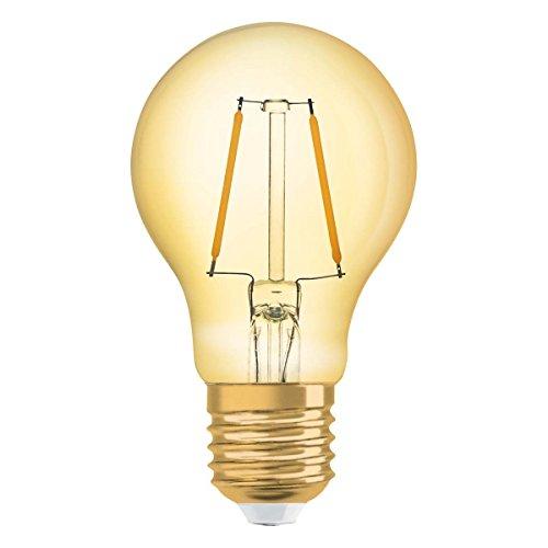 OSRAM LED-Lampe | Sockel: E27 | Warm White | 2500 K | Ersatz für 12-W-Glühbirne | Vintage 1906 LED