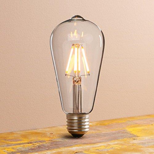 Pathson 3 Trichter Retro Design Klar Glas innen Pendelleuchte Hängeleuchte Vintage Industrie Loft-Pendelleuchte Hängelampen Hängeleuchte Pendelleuchten
