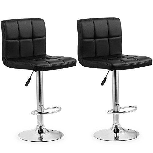 Homfa Barhocker 2er set Barstühle höhenverstellbar Belastbar bis 160kg