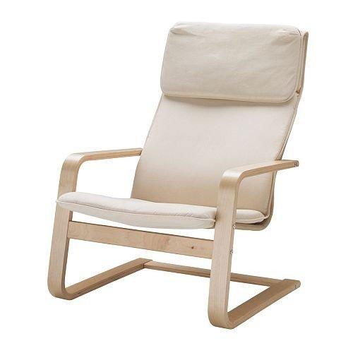 IKEA Schwingsessel 'PELLO' Sessel Freischwinger Loungechair Birke Stahl